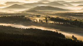 Morgon i dalen Royaltyfri Fotografi