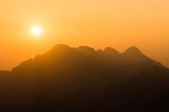 Morgon i höga Tatras, Slovakien Arkivbilder