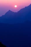 Morgon i höga Tatras, Slovakien Royaltyfri Fotografi
