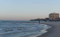 Morgon i Herzliya Arkivfoto