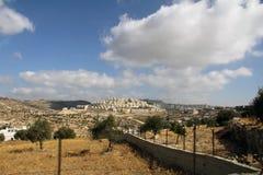 Morgon i Israel Arkivbilder