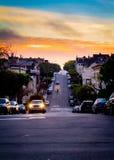 Morgon i San Francisco Fotografering för Bildbyråer