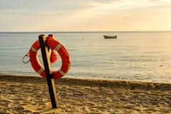 Morgon i Sant Andrea Marina Arkivfoto