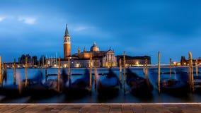Morgon i Venedig Arkivfoton