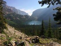 Morgon lake Fotografering för Bildbyråer