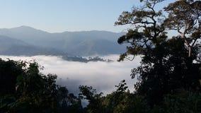 Morgon på berg Royaltyfria Bilder