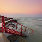 Morgon på havet Royaltyfria Bilder