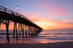 Morgon på havet Fotografering för Bildbyråer