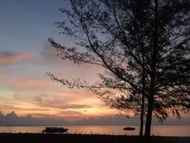 Morgon på havet Royaltyfria Foton