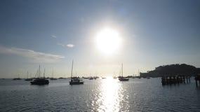 Morgon på kusten Royaltyfri Foto