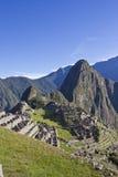 Morgon som stiger över Machu Picchu Arkivfoton