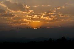Morgon Sun Arkivbild