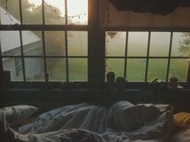 morgon sunday Arkivbild