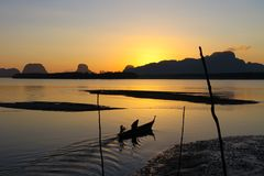 morgon thailand Royaltyfri Fotografi
