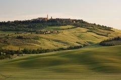 morgon tuscany Fotografering för Bildbyråer
