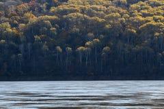 Morgonen av den heilongjiang floden Royaltyfri Foto