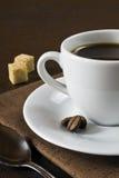 Morgonespressokaffe Royaltyfri Fotografi