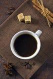 Morgonespressokaffe Royaltyfria Foton