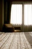 morgonfönster Arkivbild