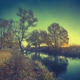 Morgonflod V Arkivfoto