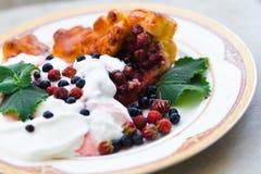 Morgonfrukost Arkivbild