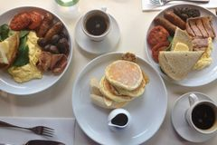 Morgonfrukost Arkivfoton