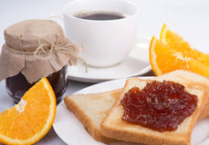 Morgonfrukost Arkivfoto