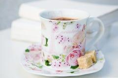 Morgonkaffe Arkivbild