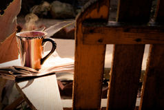 Morgonkaffe arkivfoton