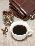 Morgonkaffe royaltyfri bild