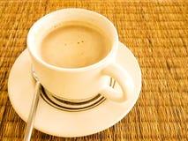 Morgonkaffe Arkivfoto