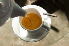 Morgonkopp av tea Royaltyfri Fotografi