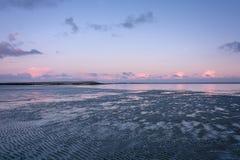 Morgonljus i Holland Royaltyfria Bilder