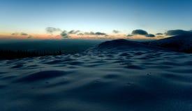 morgonsikt Arkivfoton
