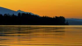 morgonsikt Arkivfoto