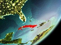 Morgonsikt av Kuban stock illustrationer