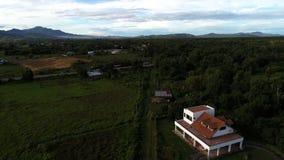 Morgonsikt på Sabah Arkivbild