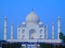 Morgonsikt Taj Mahal arkivfoto