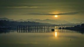 Morgonsolgryningen Arkivfoto