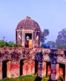 Morgonsoluppgång Lucknow arkivfoton