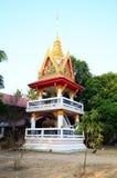 Morgontid på Wat Pho Sri Sa-på Royaltyfri Fotografi