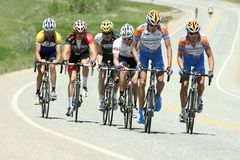 The Morgul-Bismarck Circuit Road Race Royalty Free Stock Photography