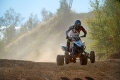 Morgunov Oleg 67, ATV-sport photos libres de droits