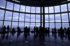 Mori tower view Royalty Free Stock Photo