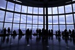 Mori tower view Royalty Free Stock Photo
