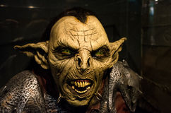 Moria goblin from from Lord of the Ring fantasy  picture movie Royalty Free Stock Photography