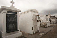 Marie Laveau gravesite in St Louis Cemetery No 1 Royalty Free Stock Photography
