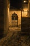Morigerati, pequeño pueblo encantador en Italia meridional Imágenes de archivo libres de regalías