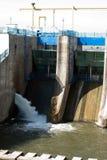 Morii lake flood gates Stock Images