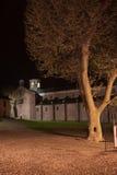 Morimondo abbey. In lombardy italy Stock Photo